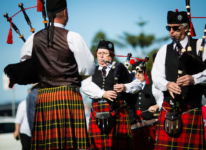 Illawarra Pipe Band at Vietnam Veterans Day, Flagstaff Hill, Wollongong on 14th August 2016-09-06