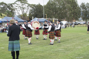 Illawarra Pipe Band at 2017 Games Day