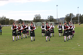 Sydney Thistle Pipe Band at 2017 Games Day